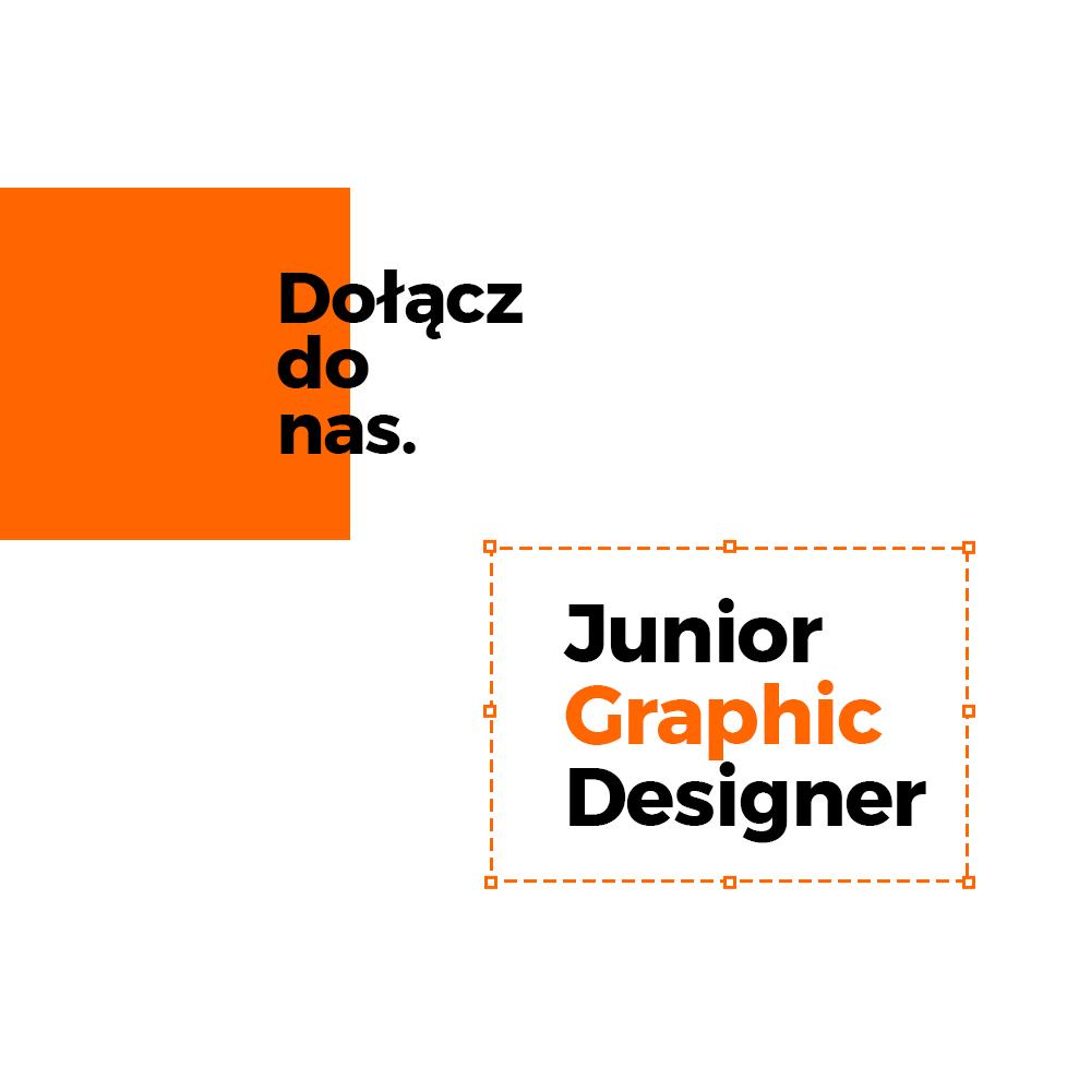 Poszukiwany/a Junior Graphic Designer
